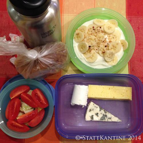 Stattkantine 13.03.14 - Käse, Tomaten, Artischocken