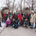 Group Shot - Cabbagetown and Leslieville Walk - 1 Mar 14 by Jay:Dee