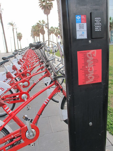 Bicing dock card swyper