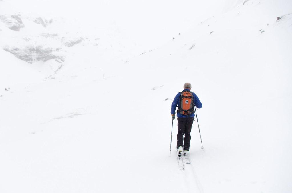 Parc naturel de la Vanoise - Randonnée à ski - En route
