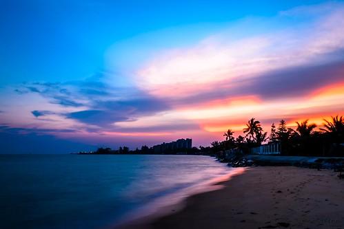 sunset landscape malaysia melaka malacca
