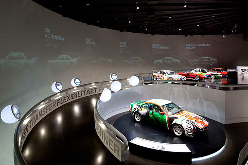 BMW Art Cars at BMW Museum