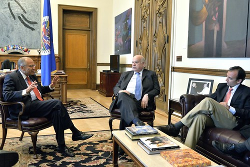 OAS Secretary General Meets with Minister of Justice of Colombia