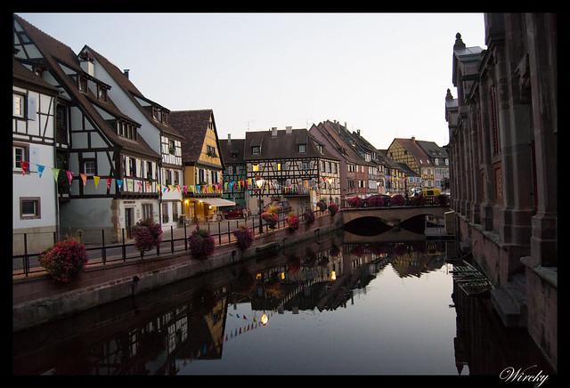 Selva Negra Alsacia Friburgo Vogelgrun Eguisheim Colmar - Canal de la Pequeña Venecia de Colmar