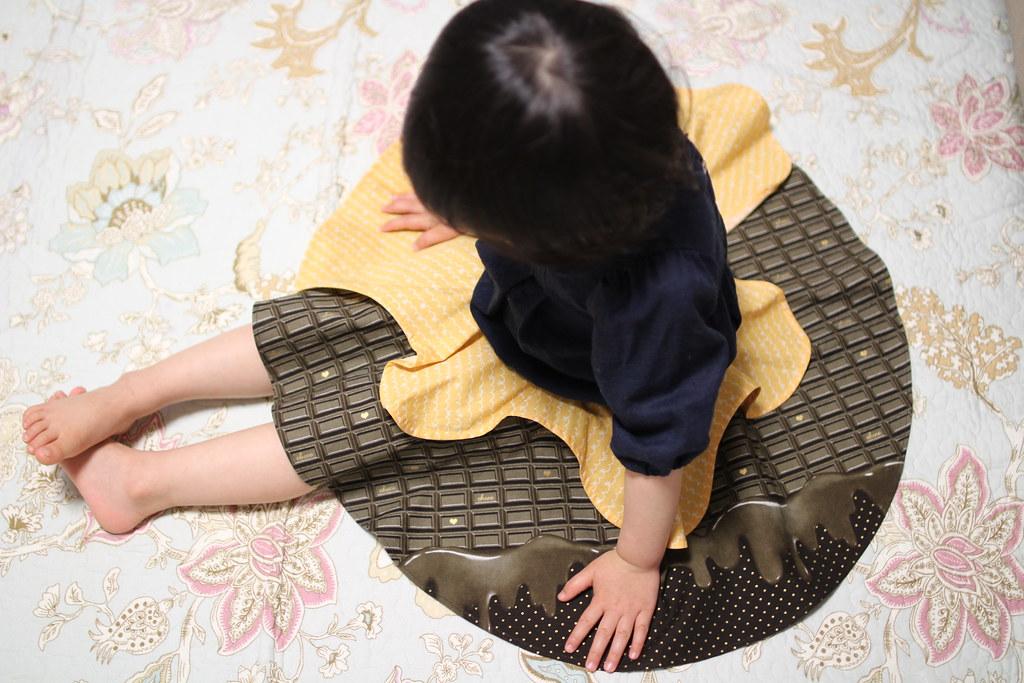 KUNPOOTLE(くんぷうとる)_チョコレートスカート
