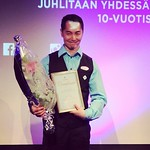 Jan Lin on Vuoden asiakaspalvelija 2014! #casinohelsinki #casinohosts