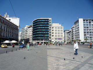 Imagine de Omonia Square. 2014 lente griekenland greece ελλάδα ελλάσ athens athene αθήνα omonio square πλατεία ομονοίασ spring