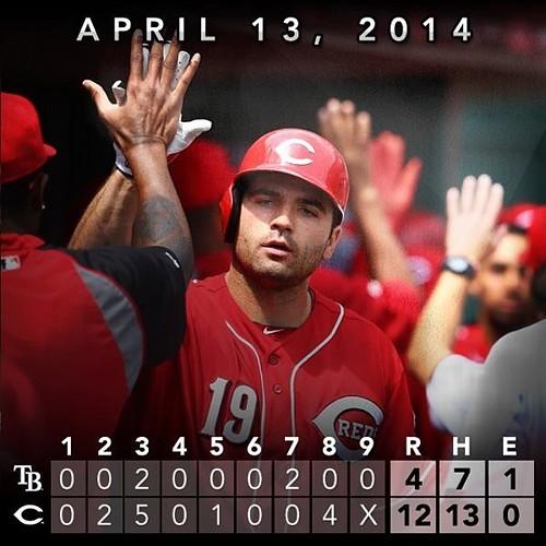 Reds • April 13, 2014
