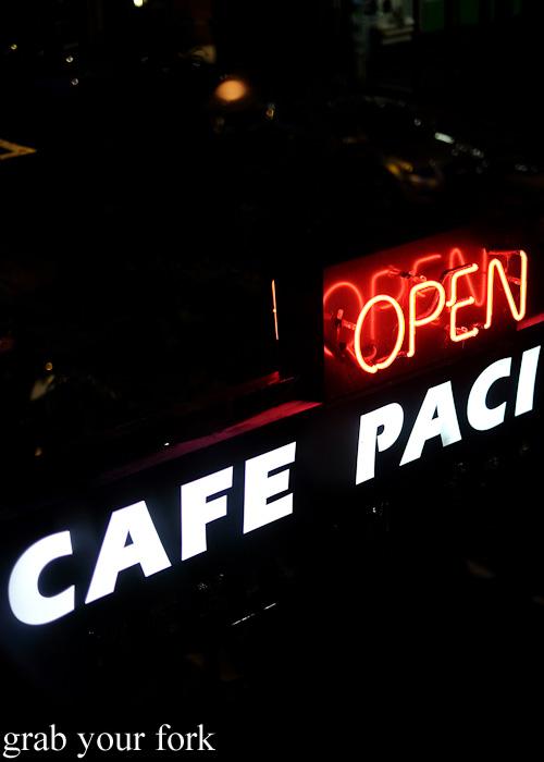 Cafe Paci, Darlinghurst