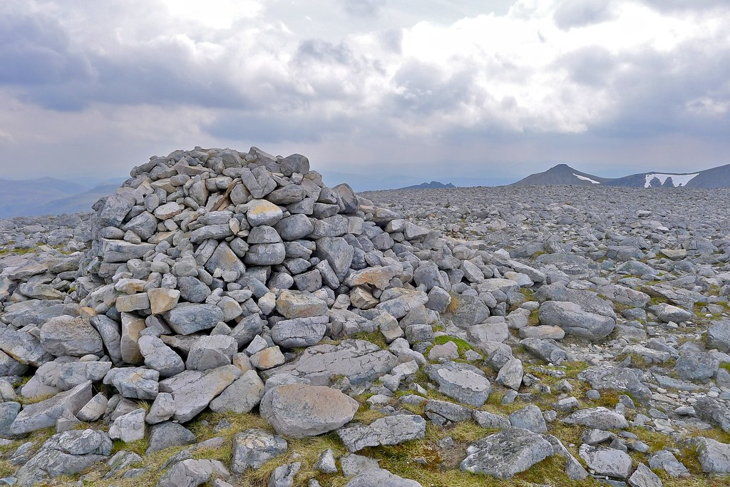 Summit of Sgurr Ban