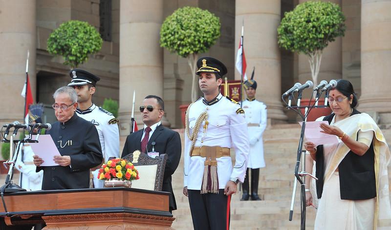 India External Affairs ministers 2014 Sushma Swaraj