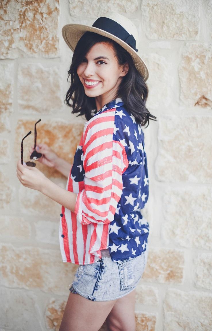 american flag shirt, american flag print shirt, american shirt, urban outfitters american shirt, austin style blog, austin fashion blog, austin texas style blogger, austin texas fashion blogger, texas fashion blogger