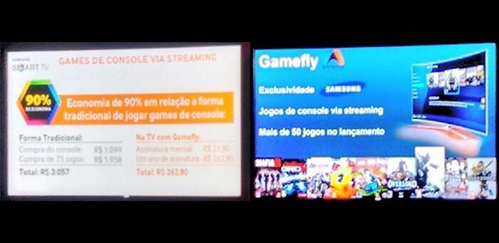 Samsung promete serviço de streaming de jogos para suas televisões
