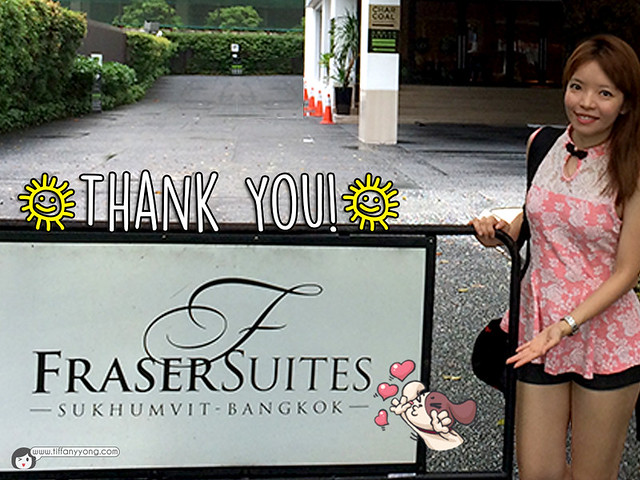 Fraser Suites Sukhumvit Tiffany Yong Review