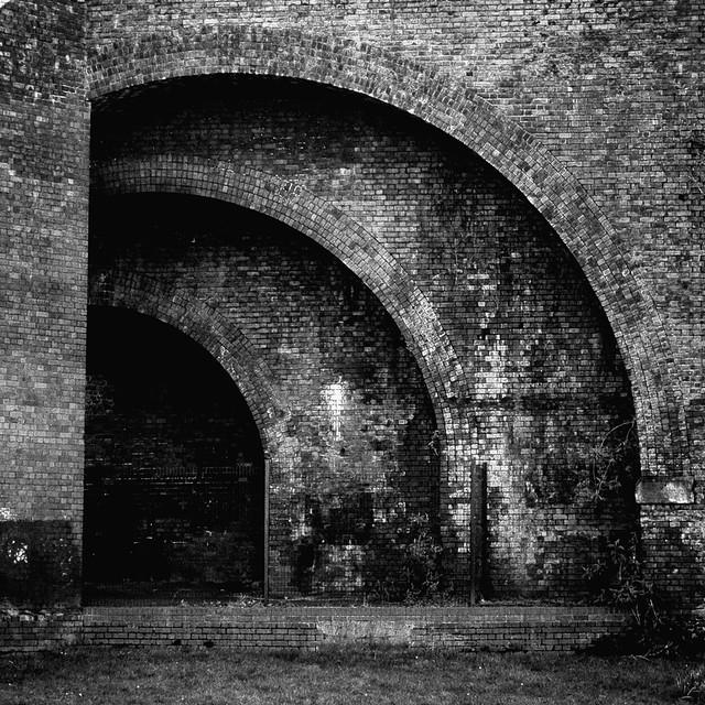 Ever decreasing arches.
