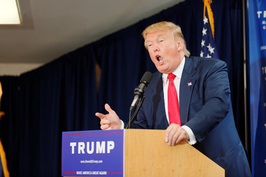 Donald Trump Laconia Rally, Laconia, NH