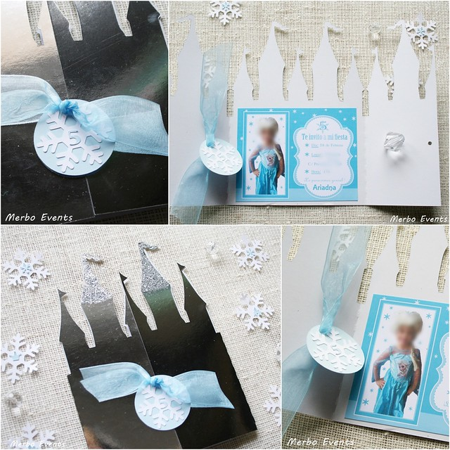 Invitacion Castillo Frozen Merbo Events