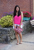 pink tank, white shorts, aztec sequin clutch-3.jpg by LyddieGal