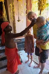 Błogosławieństwo w świątyni w Kottoor