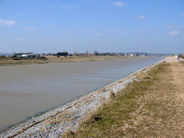 The River Brede near Rye Harbour