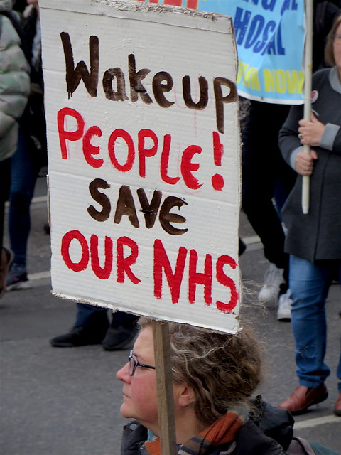 Wake up people! Save our NHS