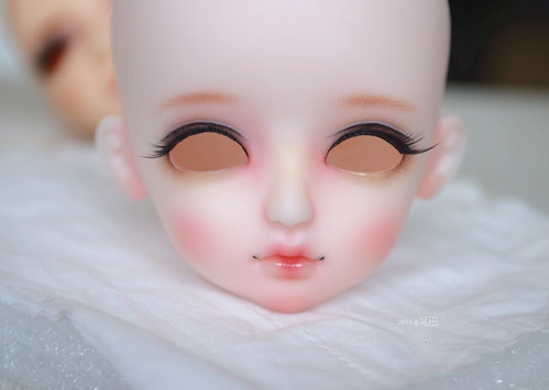 手绘美妆面具