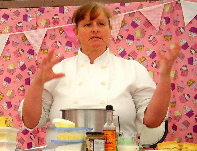 Afternoon Tea making with cook Julie Oddie