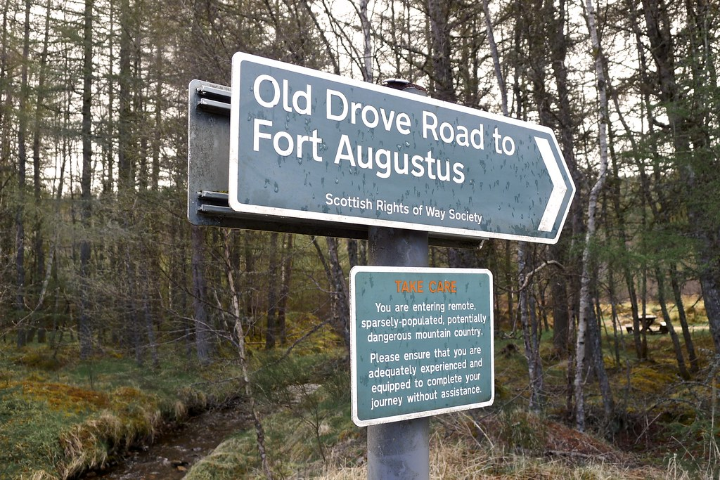 Old Drove Road to Fort Augustus