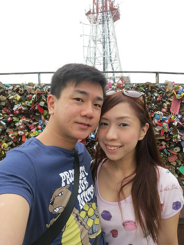 Korea travel tips, N Seoul Tower, nadnut Seoul Tower, Love locks Korea, Locks of love in Korea, Love locks Seoul Tower, Love locks N seoul tower, romantic Seoul Korea, Romantic Korea, Romantic locks of love, lovebirds, nadnut Korea, singapore lifestyle blog, singapore travel blog, travel blog, Traveling to Korea