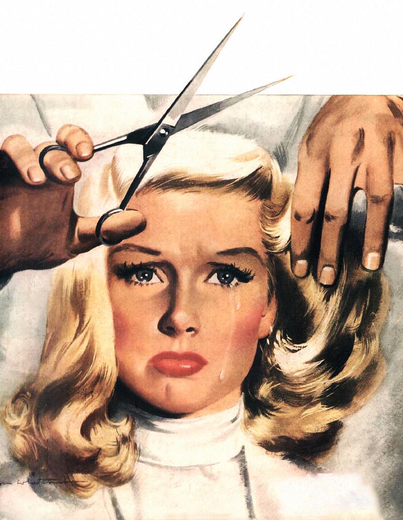 jon whitcomb-cutting hair blonde
