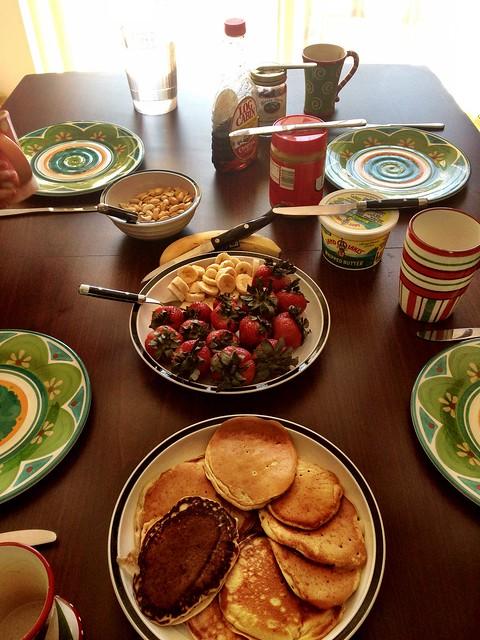 Dr. Seuss breakfast