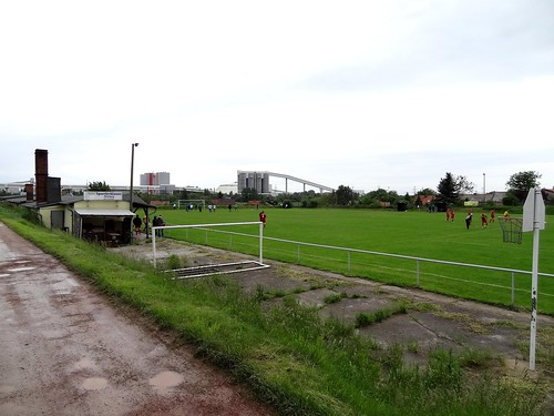 DSC06303: Altenburger Sportplatz, home of SG Altenburg.