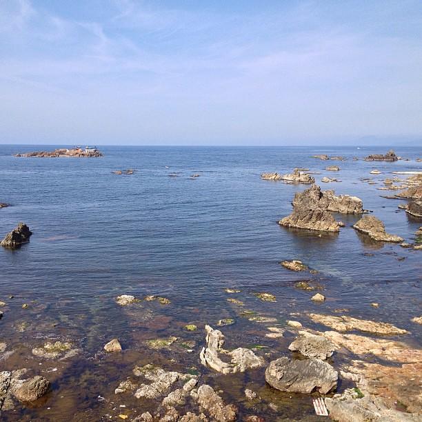 Photo:ちょいと日本海。香住海岸の一番東、日和山海岸。城崎マリンワールドのところだけど、そちらはスルーで。 By double-h_by_phone
