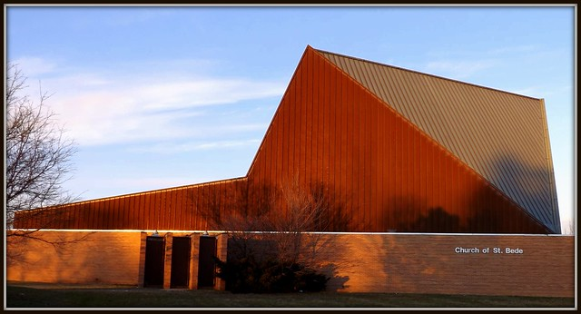 Former Saint Bede Roman Catholic Church, West 12 Mile Road--Southfield MI