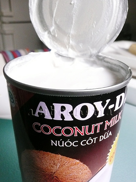 leche-de-coco aporta un sabor brutal