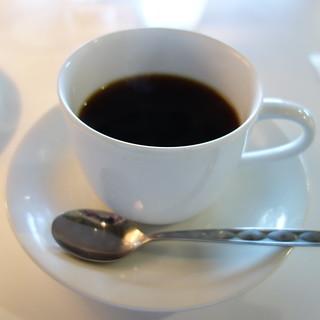 コーヒーを飲んだ。
