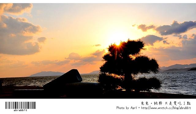 島根漫慢玩。宍道湖夕陽