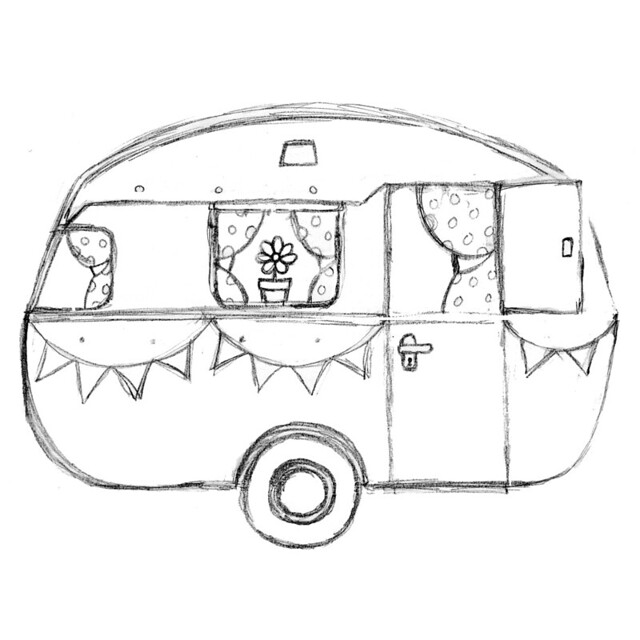 outline drawing of motorhome with 9158425035 on  in addition Saint Patricks Day Coloring Pages in addition Vintage Rv Trailer Clipart in addition U11116433 further 9158425035.