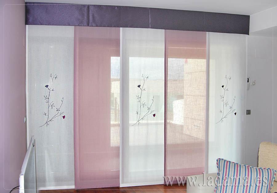 Fotograf as de cortinas en salones cl sicos la dama - Panel japones infantil ...