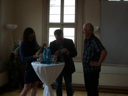 Angela Dorn, Oliver Krischer und Erhard Renz