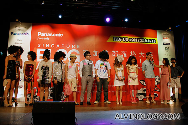 The ten best dressed people for Singapore Blog Awards 2013