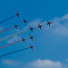 Concorde Formation Red Arrow - Waddington Airshow by Dan - DB Photography