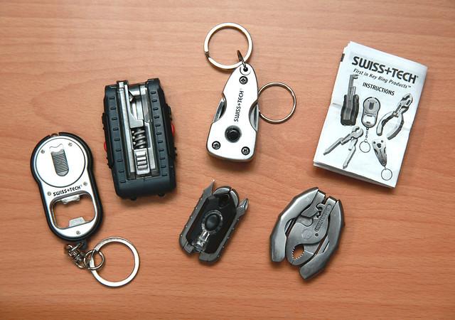 (美國來的!)SWISS+TECH 微型工具五件組 @3C 達人廖阿輝