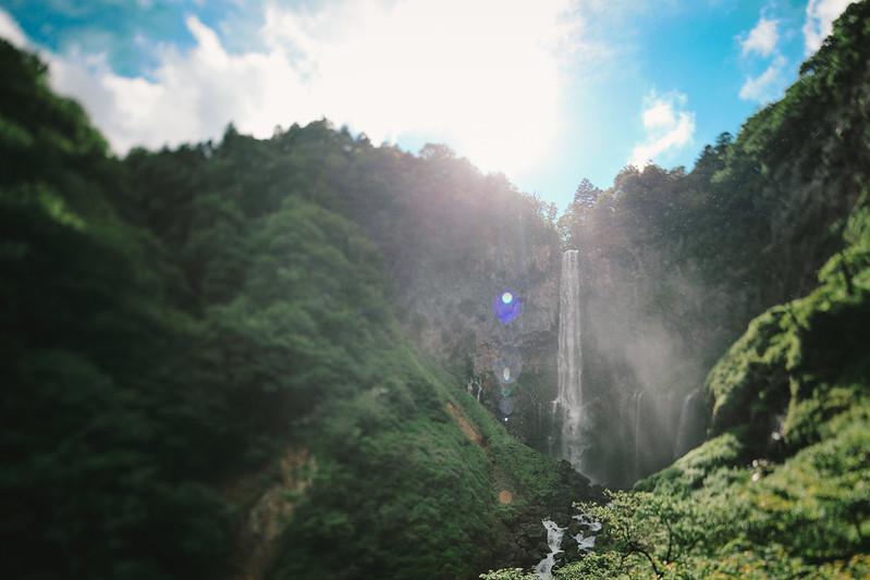 華厳の滝。