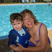 Me and KFP at the Pool