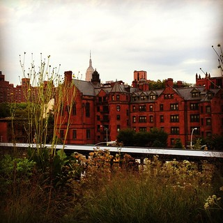 High Line Late Summer View - New York City