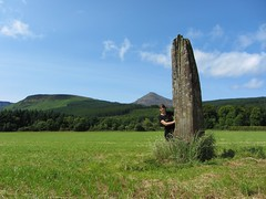 Standing Stone in Brodick, Isle of Arran