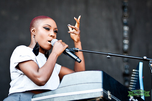 Laura Mvula am Frequency 2013