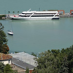 Ferry on Lake Balaton
