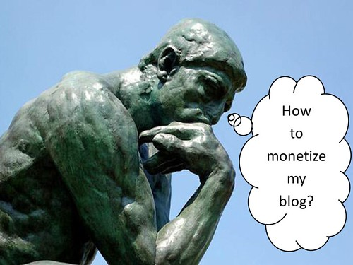 How to monetize a blog?